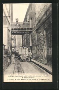 AK Cognac, Chateau de Cognac, Les Ponts et le Chemin de Service Interieur