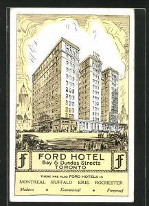 AK Toronto, Ford Hotel, Bay & Dundas Streets