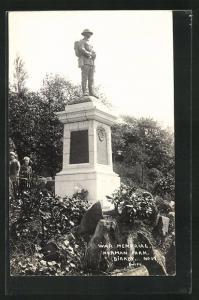 AK Birkby, War Memorial, Norman Park