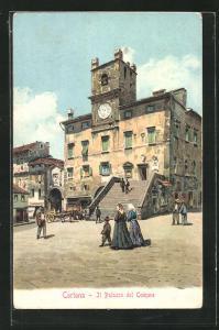 AK Cortona, Il Palazzo del Comune