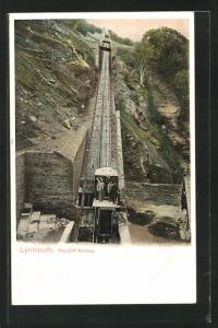 AK Lynmouth, The Cliff Railway