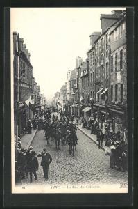 AK Vire, La Rue du Calvados