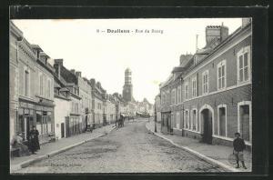 AK Doullens, Rue du Bourg