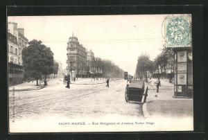 AK Saint-Mandé, Rue Mougenot et Avenue Victor Hugo