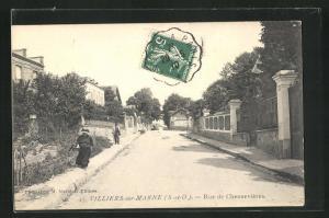AK Villiers-sur-Marne, Rue de Chennevieres