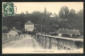 AK Fontaine-le-Port, Le Pont