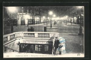 AK Paris, Perspective de l'Avenue de l'Opera
