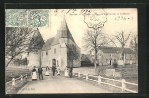 AK Tuffé, Donjon du Chateau de Chéronne