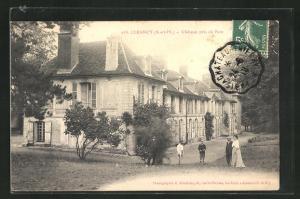 AK Luzancy, Chateau pris du Parc