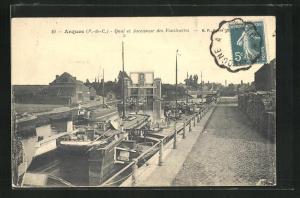 AK Arques, Quai et Ascenseur des Fontinettes