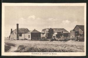 AK Licourt, Zuckerfabrik