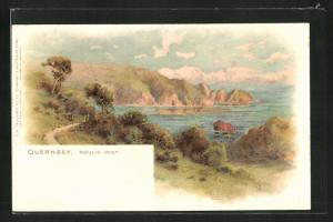 Lithographie Guernsey, Moulin Huet