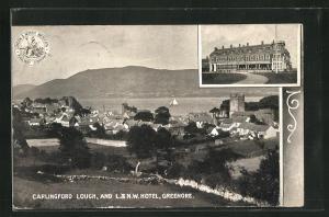 AK Greenore, Carlingford Lough, and L. & N.W. Hotel