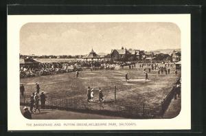 AK Saltcoats, The Bandstand and Putting Greens, Melbourne Park
