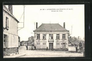AK Avesnes-Le-Comte, Hotel de Ville