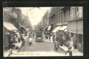 AK Berck-Plage, Rue Carnot