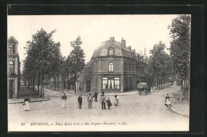 AK Béthune, Place Saint-Eloi et Rue Eugéne-Haynaut
