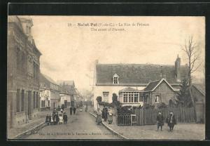 AK Saint-Pol, La Rue de Frévent