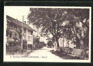 AK Evian-Les-Bains-Milly, Ortsansicht