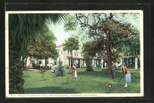 AK Pasadena, CA, Vista del Arroyo Hoteland Bungalows