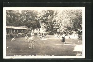 AK Blaine, WA, Golfing at Sea Shore Inn-Birch Bay