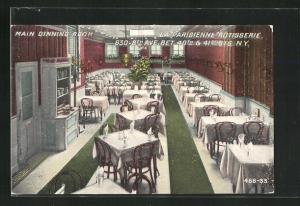 AK New York, NY, Main Dinning Room La Parisienne Rotisserie