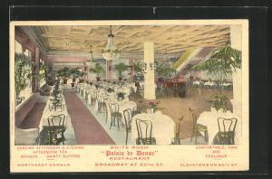 AK New York, NY, Restaurant Palais de Danse, White Room