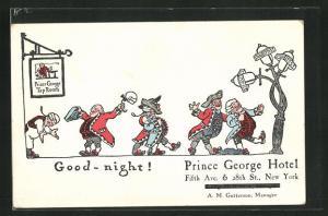 AK New York, NY, Prince George Hotel, Good-night!