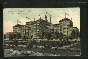 AK Niagara Falls, NY, The Home of Shredded Wheat