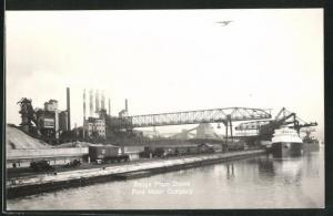 AK Dearborn, MI, Rouge Plant Docks Ford Motor Company