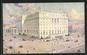Künstler-AK Liverpool, Midland Adelphi Hotel