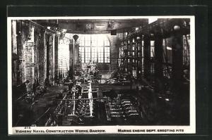 AK Barrow, Vicker's Naval Construction Works