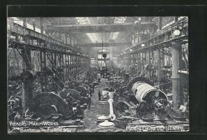 AK Barrow, Vickers Maxim Works, Marien Engine Dept.