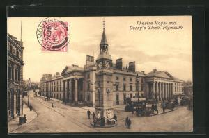 AK Plymouth, Theatre Royal and Derry's Clock