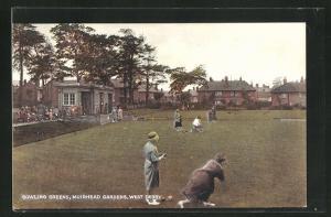 AK West Durby, Bowling Greens at Muirhead Gardens