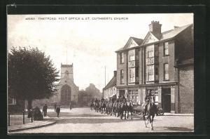 AK Thetford, Post Office & St. Cuthberts Church