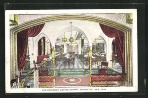 Künstler-AK Rochester, NY, The Odenbach Coffee Shoppe