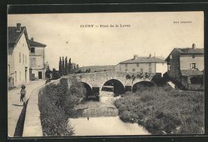 AK Cluny, Pont de la Levée