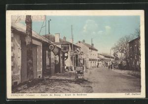 AK Chaunay, Entree du Bourg, Route de Bordeaux