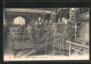 AK Bethune, Mines et Mineurs, Au Triage