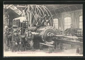 AK Bruay, La Machine d'extraction du Puits No. 1
