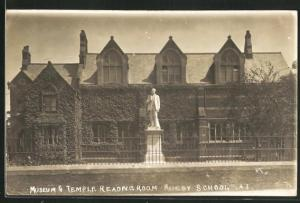 AK Rugby, School, Museum & Temple Reading Room