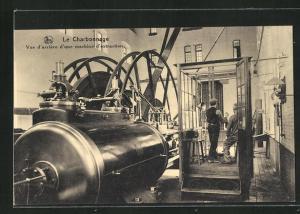 AK Seraing, Le Charbonnage, une machine d`extraction