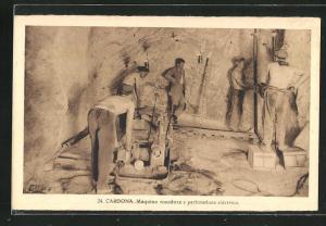 AK Cardona, Máquina rozadora y perforadora eléctrica