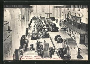 AK Capdella, Central, Sala de máquinas
