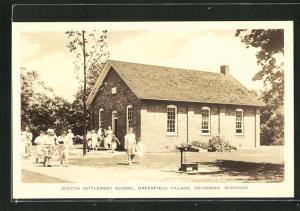 AK Dearborn-Greenfield, MI, Scotch Settlement School