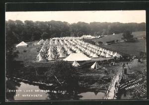 AK Warkworth, Church Lads Brigade in Camp