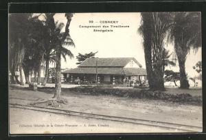 AK Conakry, Campement des Tirailleurs Sénégalais