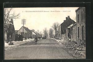 AK Villers-Bretonneux, Route d`Amiens