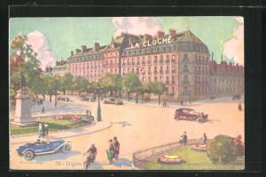 AK Dijon, Place Darcy, La Cloche
